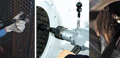 Оборудование для развальцовки труб