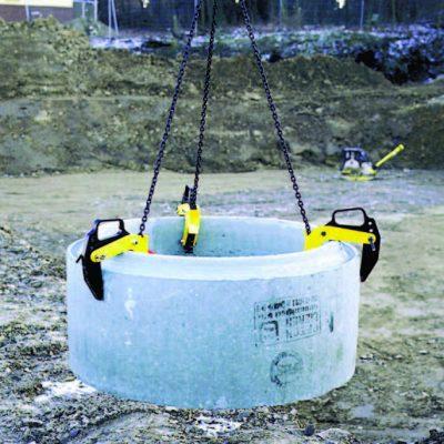 Захваты для бетонных колодцев BTG