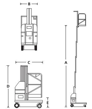 Мачтовый персональный подъёмник SPM 20