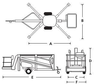 Прицепной подъемник TL49J