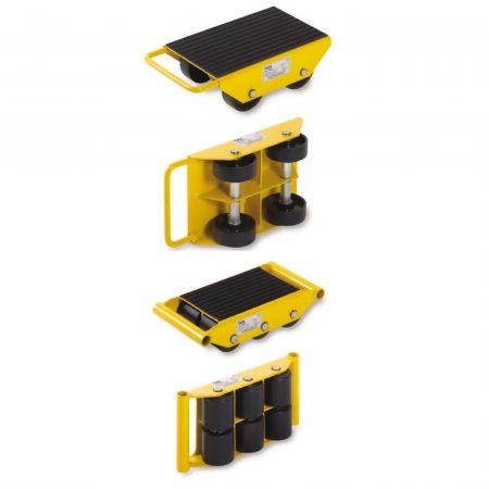 Роликовые тележки для перемещения грузов и системы с фиксированными роликами LF