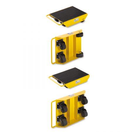 Роликовые тележки с поворотными роликами для перемещения грузов LFL