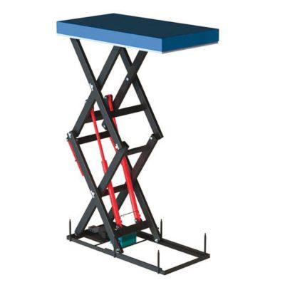 Подъёмный стол с двойными и тройными ножницами серий ED PD и PDD
