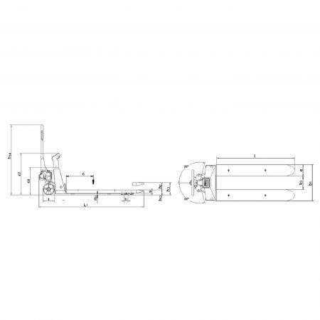 Тележка с весами для точного взвешивания HU W 20 S/HU W 20 SPR