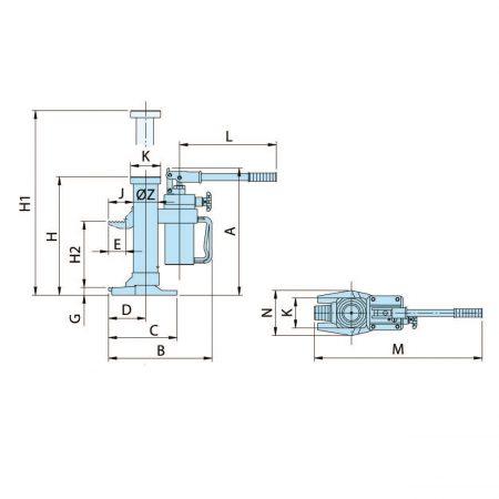 Машинные подъёмники MH