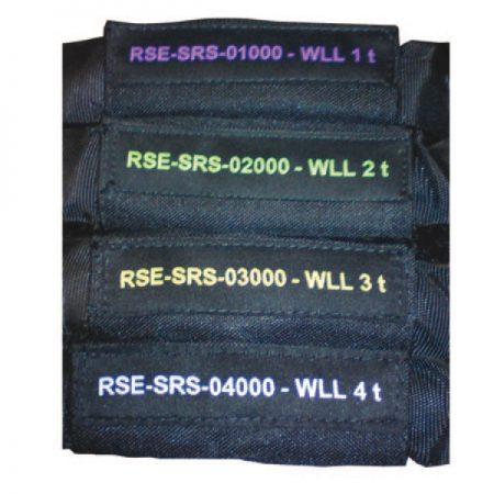Стропы со стальными сердечниками RSE-SRS