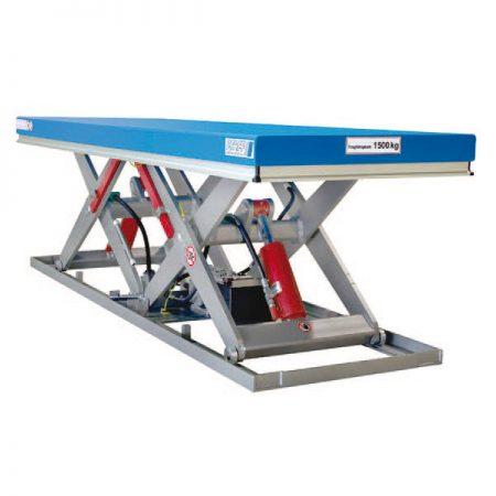 Подъёмный стол с тандемными ножницами серия PT