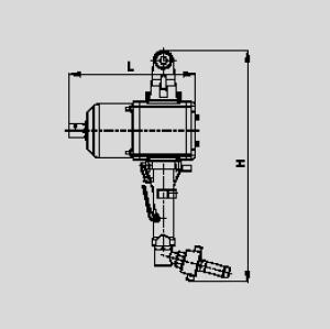 """Пневматический гайковерт ударный Модель SMP140-1 """"ХА"""