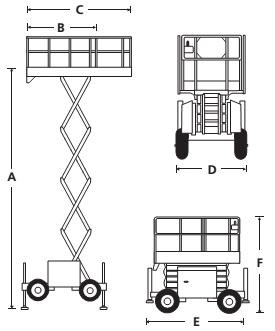 Ножничный подъемник S2770RT / S3370RT / S3970RT