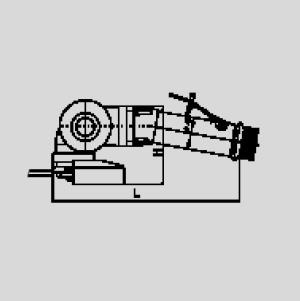 Пневматическая шлифовальная машинка РВР115А-80Х