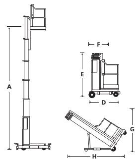 Мачтовые подъемники UL25 / UL32 / UL40