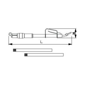 Пневматический скрепер HS 043-H19B