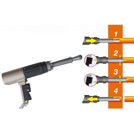 Гидравлический резец труб для теплообменников и котлов Kattex
