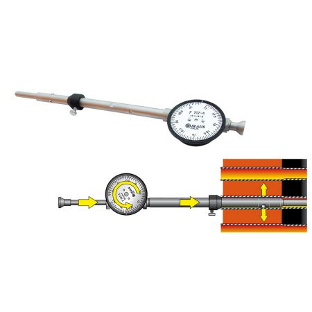 Прибор для измерения отверстий F707