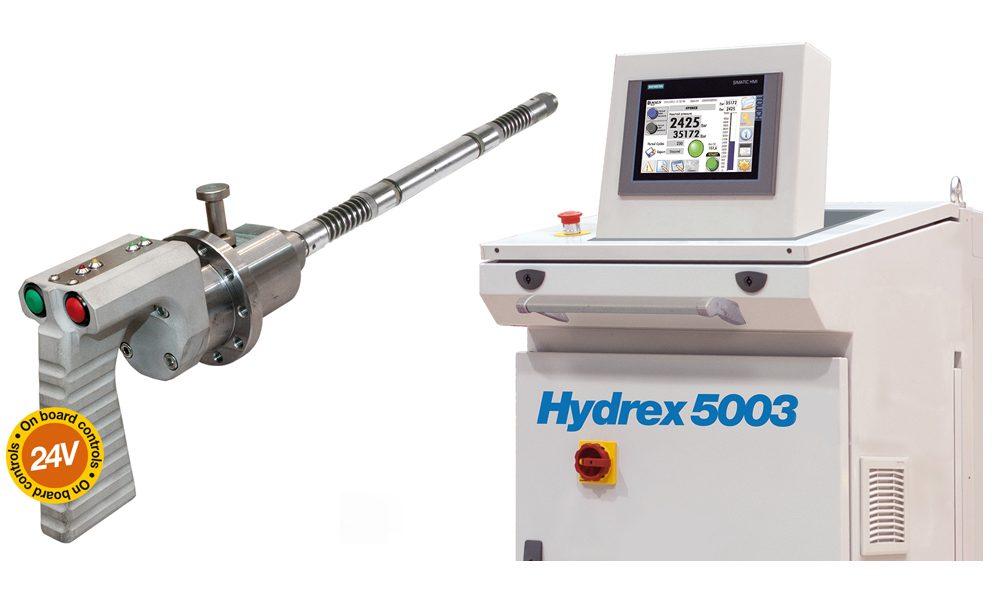 Гидравлическая система сверхвысокого давления Модель Hydrex 5003/Hydrex 5003 S: