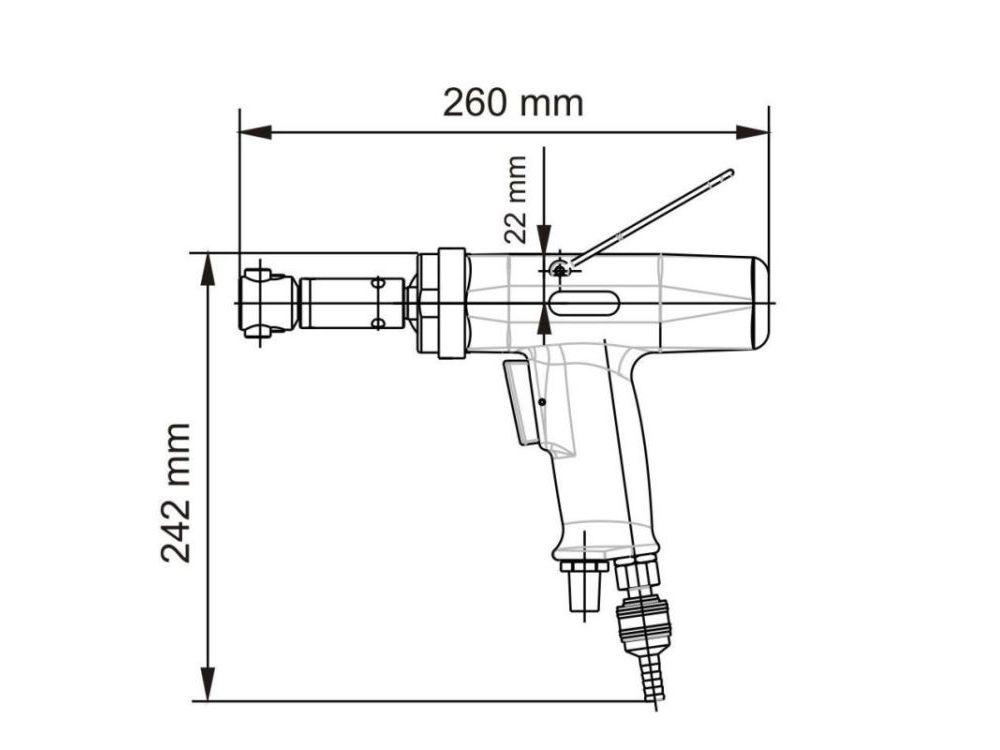 Резьборез пневматический Deprag DP030-007ZRB12