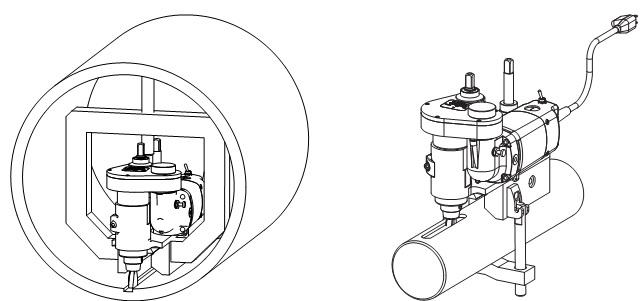 Мобильный станок для фрезеровки валов  Climax KM3000